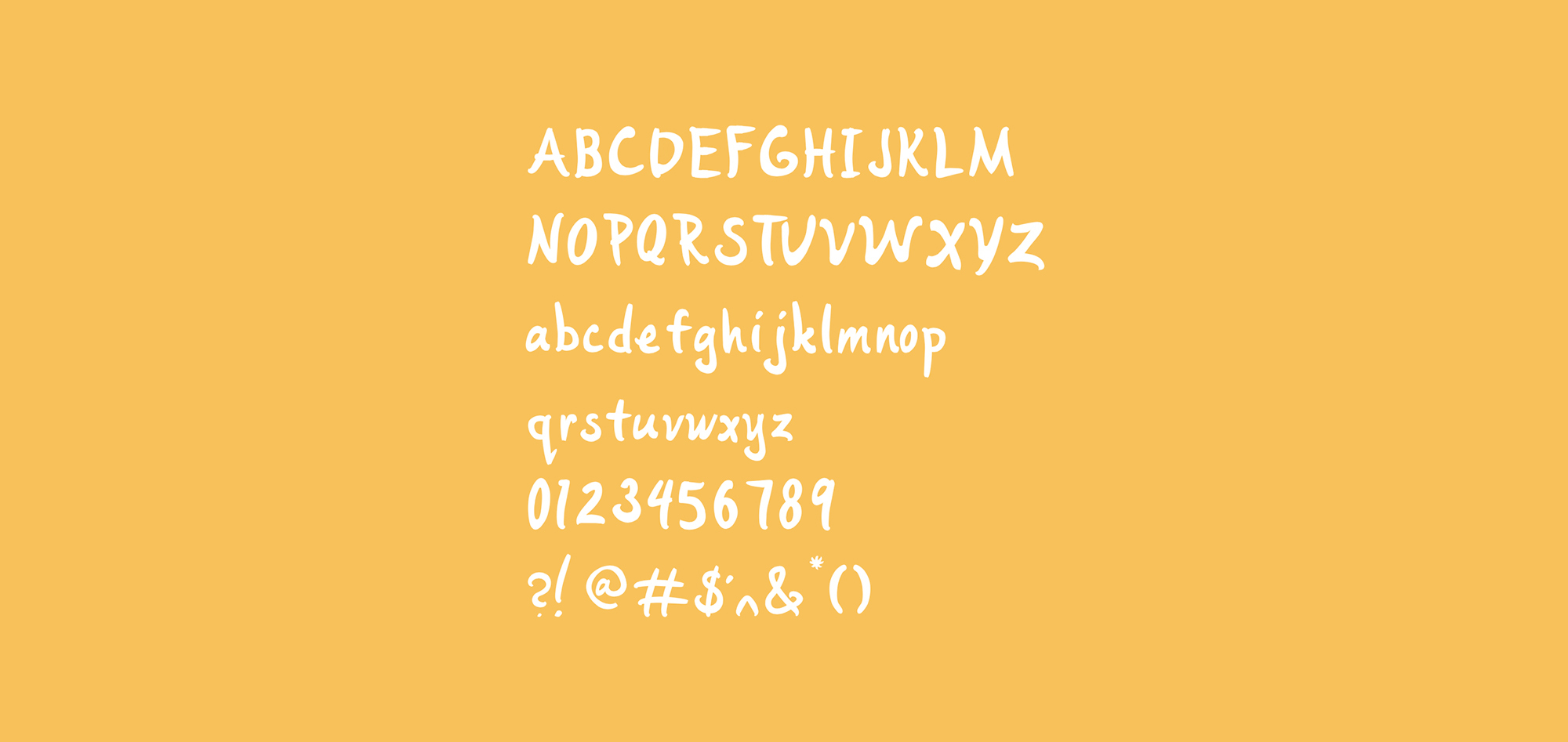 Font On Yellow